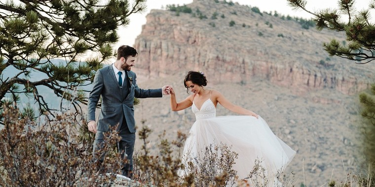 Dreamy Mountain Wedding in Colorado