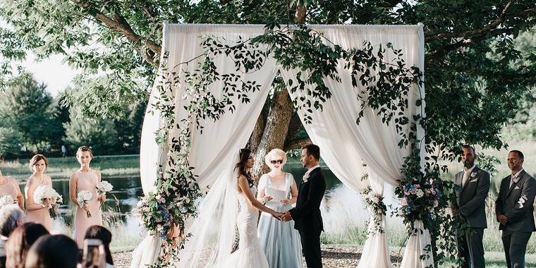 Tented Garden Wedding from LOLA Events
