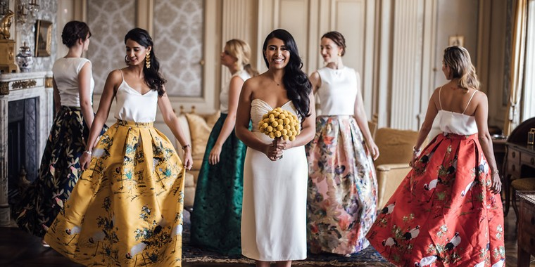 Ethnic Chic Colombian Wedding in Switzerland