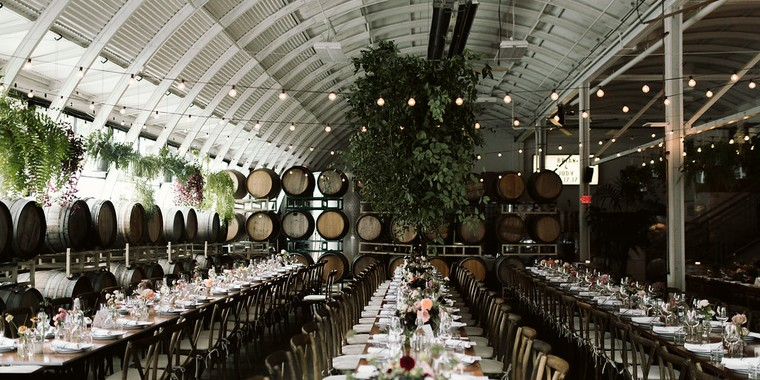 Modern Winery Wedding