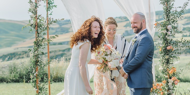 Minimalist Italian Destination Wedding in Tuscany