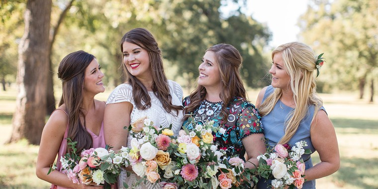 Childhood Dream Wedding at a Family Pecan Farm