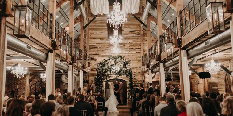 Snowy Winter Barn Wedding