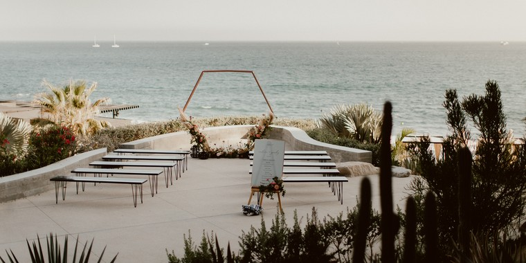 An Elegant Beachfront Wedding at The Cape