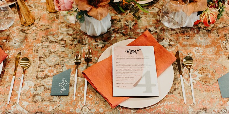 Industrial Sunset Wedding Inspiration