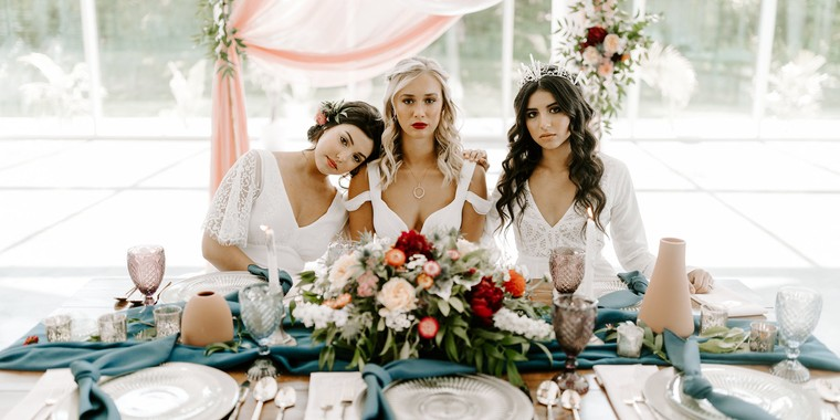 Dreamy Boho Winter Wedding Inspiration