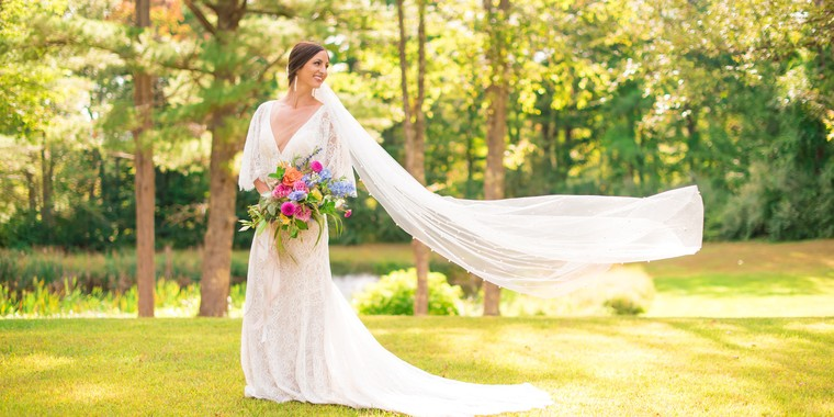 Colorful Summer Wedding at Allrose Farm